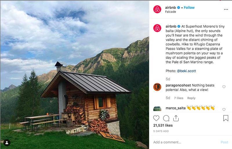 Come usare lo Storytelling aziendale - Esempio Airbnb