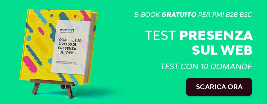 E-book TEST Gratuito per valutare visibilità azienda